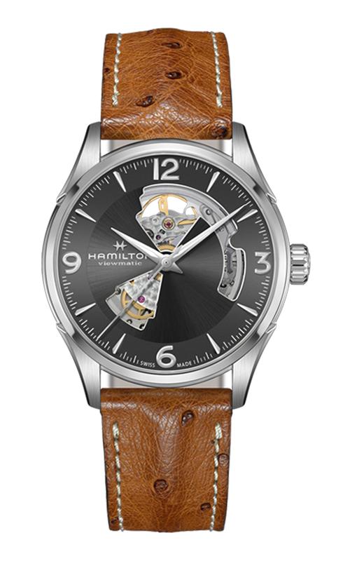 Hamilton Jazzmaster Open Heart Auto Watch H32705581 product image