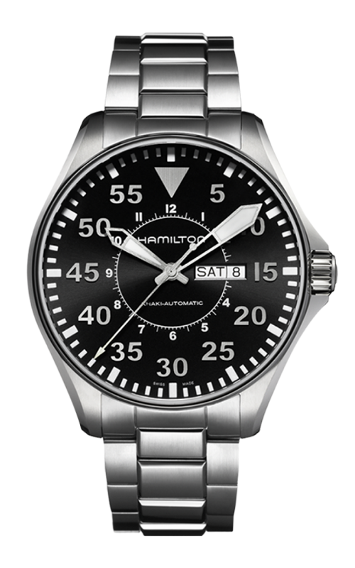 Hamilton Khaki Aviation Pilot Day Date Auto Watch H64715135 product image