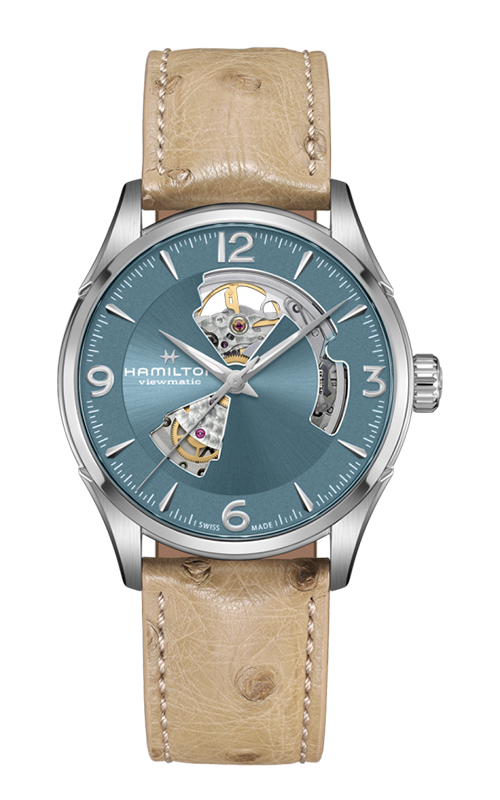 Hamilton Jazzmaster Open Heart Auto Watch H32705842 product image