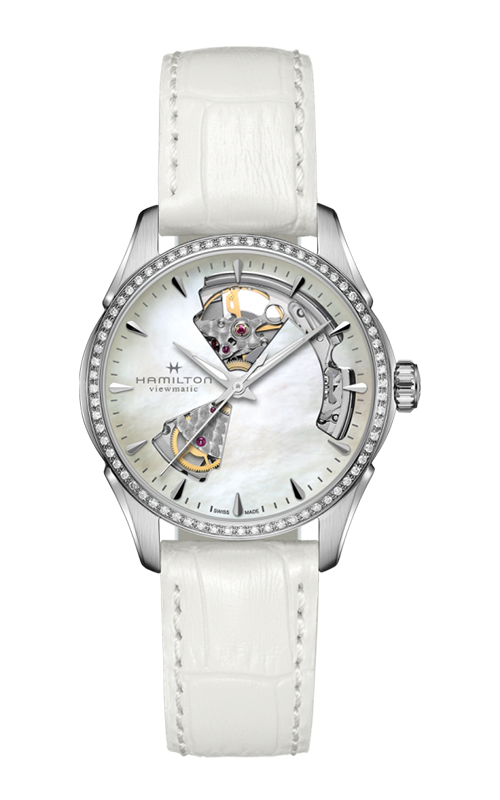 Hamilton Jazzmaster Open Heart Lady Auto Watch H32205890 product image