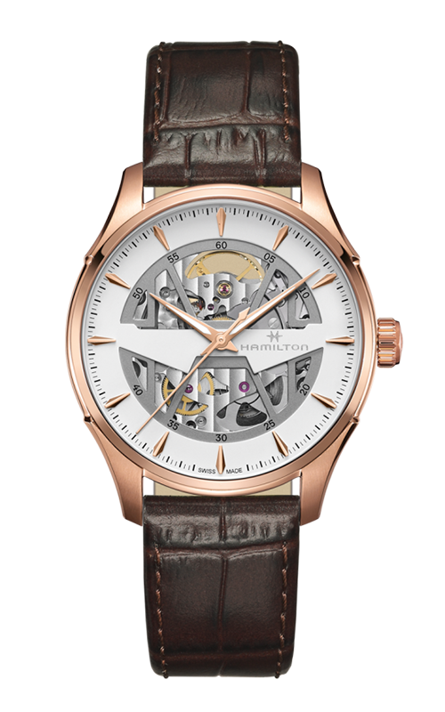 Hamilton Jazzmaster Skeleton Auto Watch H42505510 product image