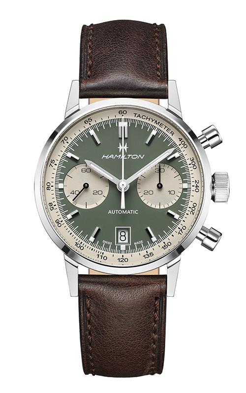 Hamilton American Classic Intra-Matic Auto Chrono Watch H38416560 product image