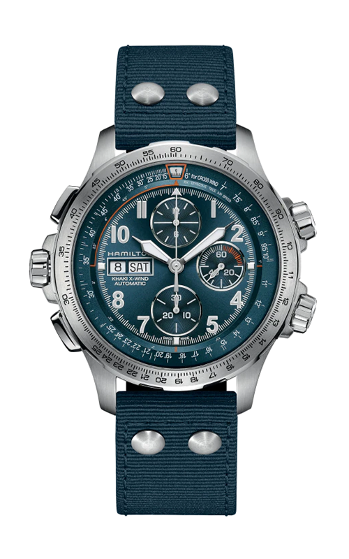 Hamilton Khaki Aviation X-Wind Auto Chrono Watch H77906940 product image