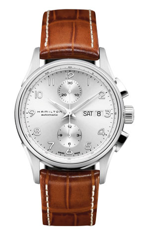 Hamilton Jazzmaster Maestro Auto Chrono Watch H32576555 product image