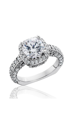 HL Mfg Halo Engagement Ring 10750 product image