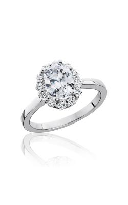 HL Mfg Halo Engagement ring 10744 product image