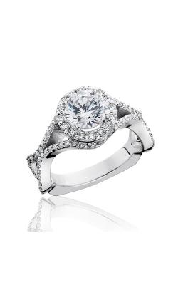 HL Mfg Halo Engagement ring 10740 product image