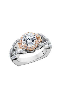 HL Mfg Halo Engagement ring 10695RGW product image