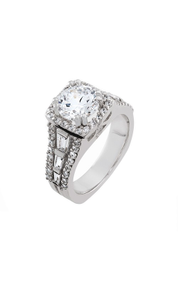 HL Mfg Halo Engagement ring 10683W product image