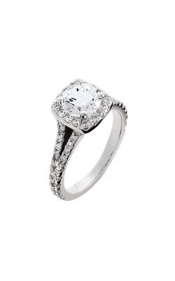 HL Mfg Halo Engagement ring 10680W product image