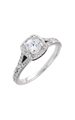 HL Mfg Halo Engagement Ring 10679W product image