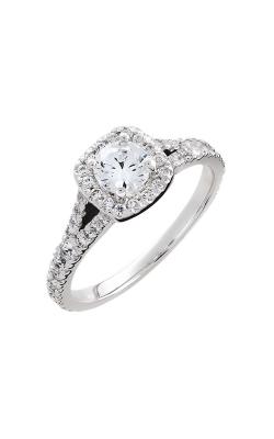 HL Mfg Halo Engagement ring 10679W product image