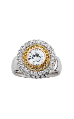 HL Mfg Halo Engagement Ring 10677 product image