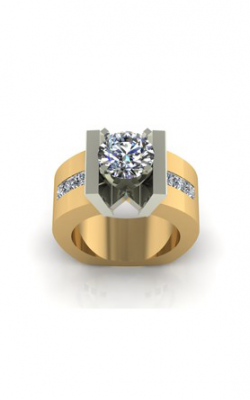HL Mfg Modern Classics Engagement Ring 10583TT product image