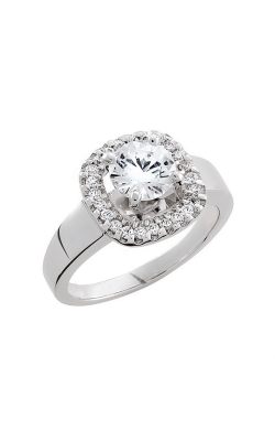 HL Mfg Halo Engagement Ring 10661W product image