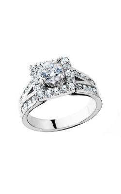 HL Mfg Halo Engagement ring 10658W product image