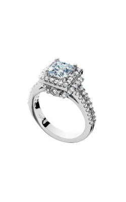 HL Mfg Halo Engagement ring 10652W product image