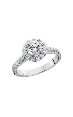 HL Mfg Halo Engagement Ring 10650W product image