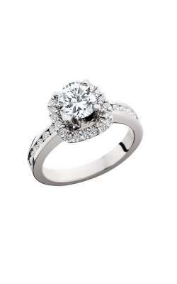 HL Mfg Halo Engagement Ring 10633W product image