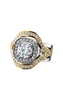 HL Mfg Halo Engagement ring 10631 product image