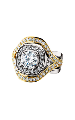 HL Mfg Halo Engagement Ring 10631 product image