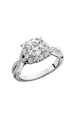 HL Mfg Halo Engagement Ring 10613W product image