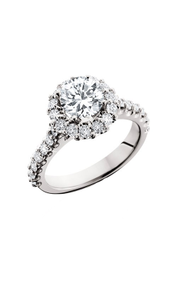 HL Mfg Halo Engagement Ring 10612W product image