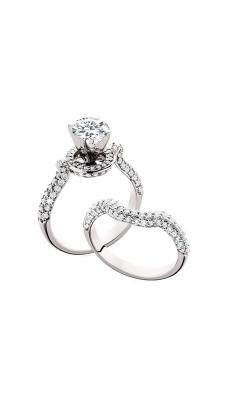 HL Mfg Halo Engagement ring 10598WSET product image