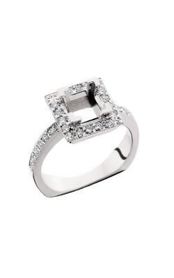 HL Mfg Halo Engagement ring 10571W product image