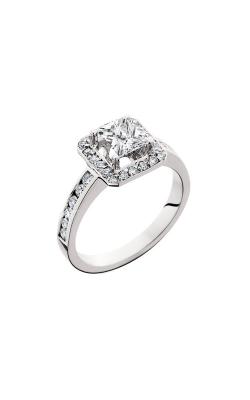 HL Mfg Halo Engagement ring 10570W product image