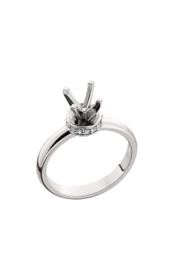 HL Mfg Halo Engagement Ring 10565W product image