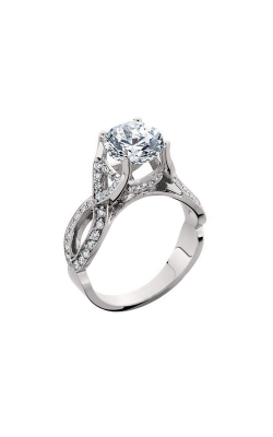 HL Mfg Halo Engagement Ring 10563W product image