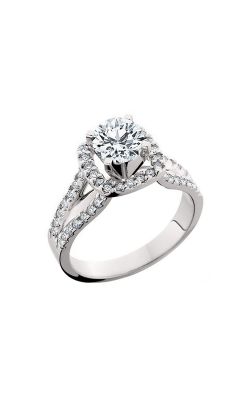 HL Mfg Halo Engagement Ring 10550W product image