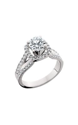 HL Mfg Halo Engagement ring 10550W product image