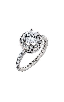 HL Mfg Halo Engagement ring 10432W product image
