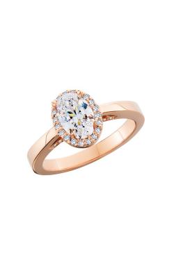 HL Mfg Halo Engagement ring 10749RG product image