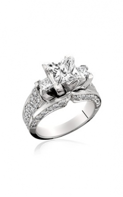 HL Mfg Modern Classics Engagement ring 10440-18W product image