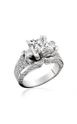 HL Mfg Modern Classics Engagement ring 10440-18W product image