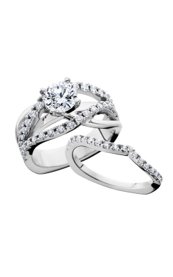 HL Mfg Engagement Sets Engagement ring 10701WSET product image