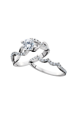 HL Mfg Engagement Sets Engagement ring 10686WSET product image