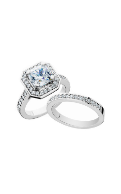HL Mfg Engagement Sets Engagement ring 10672WSET product image
