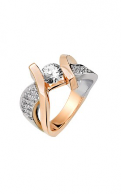 HL Mfg Contemporary Collections Engagement ring 10710RGW product image