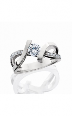 HL Mfg Contemporary Collections Engagement ring 10687W product image