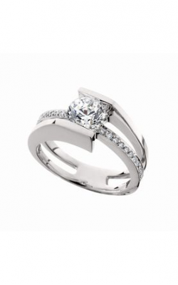 HL Mfg Contemporary Collections Engagement ring 10646W product image