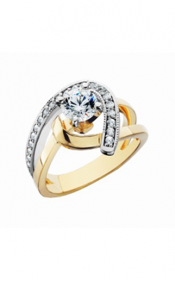 HL Mfg Contemporary Collections Engagement Ring 10645TT product image