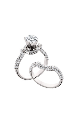 HL Mfg Engagement Sets Engagement Ring 10598WSET product image
