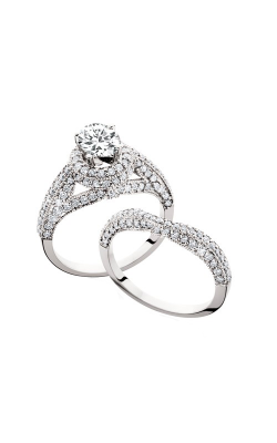 HL Mfg Engagement Sets Engagement ring 10597WSET product image