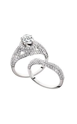 HL Mfg Engagement Sets Engagement ring 10597WSET product image