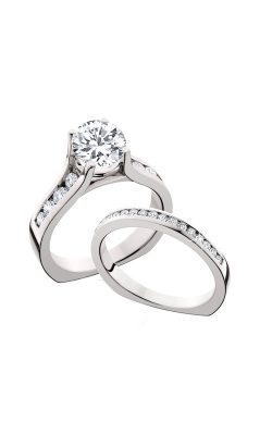 HL Mfg Engagement Sets Engagement Ring 10595WSET product image