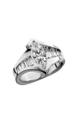 HL Mfg Contemporary Collections Engagement Ring 10641W product image